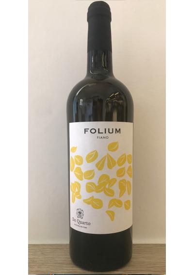 FOLIUM - Fiano Salento Igt 2017 - De Quarto